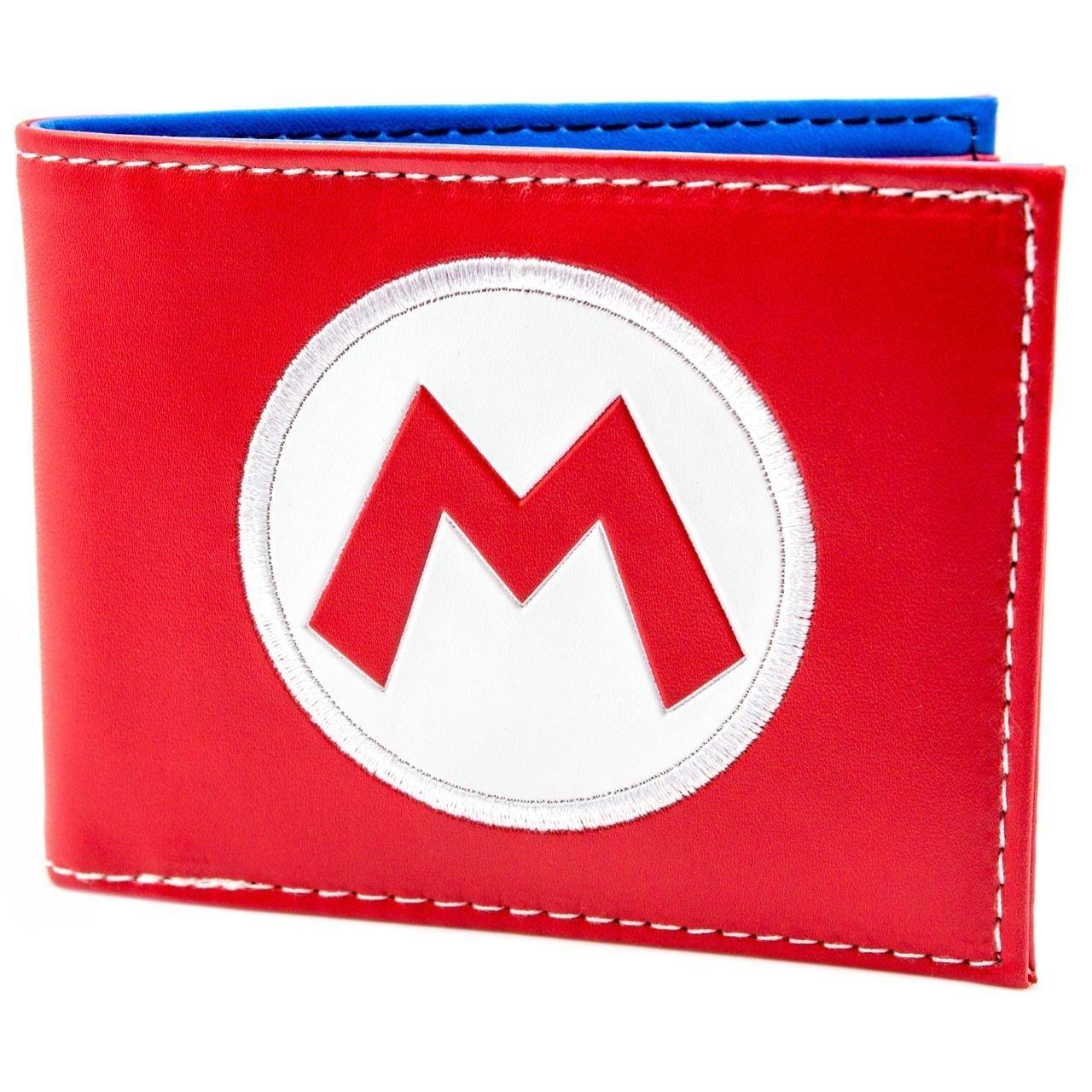Cartera de Super Mario Super Mario sombrero del logotipo rojo ...
