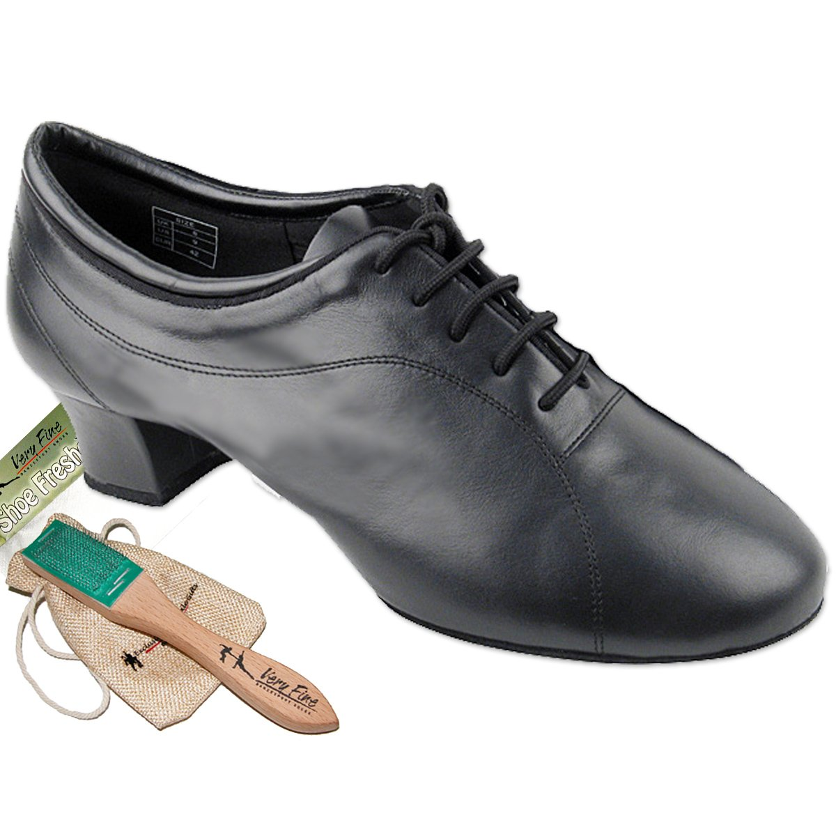 Mens Ballroom Dance Shoes Tango Wedding Salsa Latin Dance Shoes CD9316EB - Very Fine 1.5