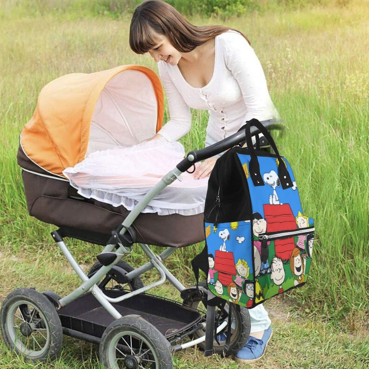 Welcome Home Snoopt Multifunction Waterproof Travel Rucksack Maternity Baby Nappy Changing Bags NHJYU Wickeltasche Rucksack