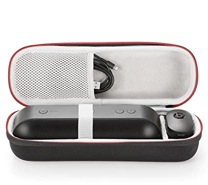 buy online 2f5fa aebd8 for Apple Dr. Dre Beats Pill+ Pill Plus Bluetooth Portable Wireless Speaker  Hard Case Travel Carrying Storage Bag. Fits USB Cable and Wall ...