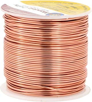 Mandala Crafts 12 14 16 18 20 22 Gauge Anodized Jewelry Making Beading Floral Colored Aluminum Craft Wire 18 Gauge Copper