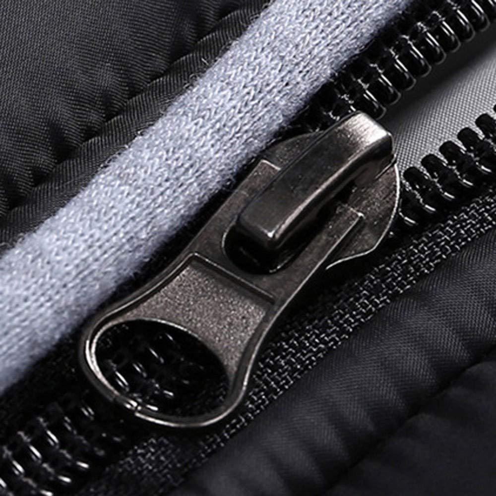 Black Friday Sales 2018 Clothes GOVOW Detachable Coat Hood For Men Zipper Coat Outwear Jacket Top Winter Pullover