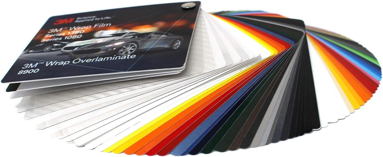 Farbfächer 3M Wrap Film 1080//1380 Di-Noc 8900 580E Scotchcal 80 100 //983//180