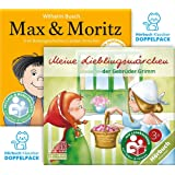 Hörbuchklassiker-Doppelpack: Meine Lieblingsmärchen der Gebrüder Grimm und Max & Moritz - Premium Edition: 2x CD + 2x Lesebüchlein + 2x mp3/eBook Download