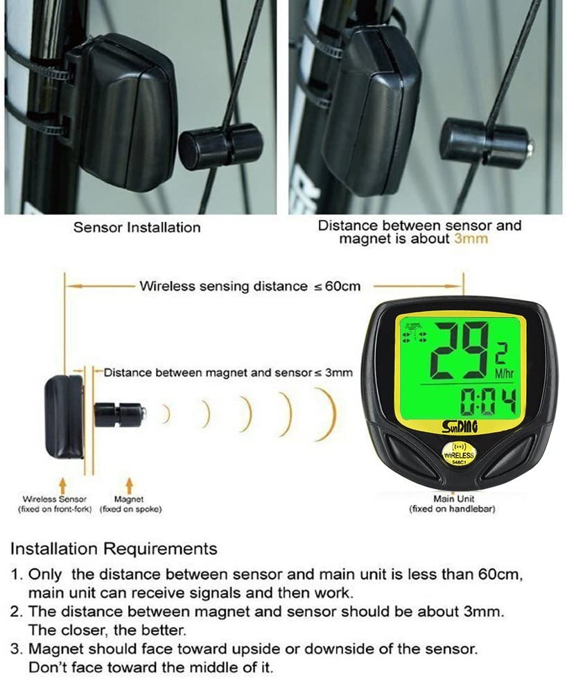 Electronics & Gadgets Speedometers Gobike Waterproof Cycle ...