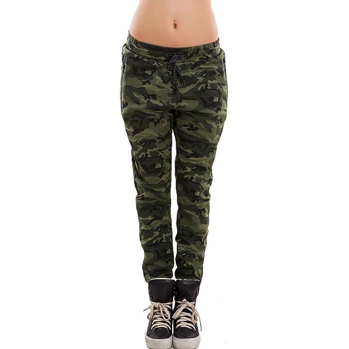 d5216ea897be4e Toocool - Pantaloni Donna Tuta Elastico mimetici Militari Camouflage Camo  Nuovi X1-98B: Amazon.it: Abbigliamento