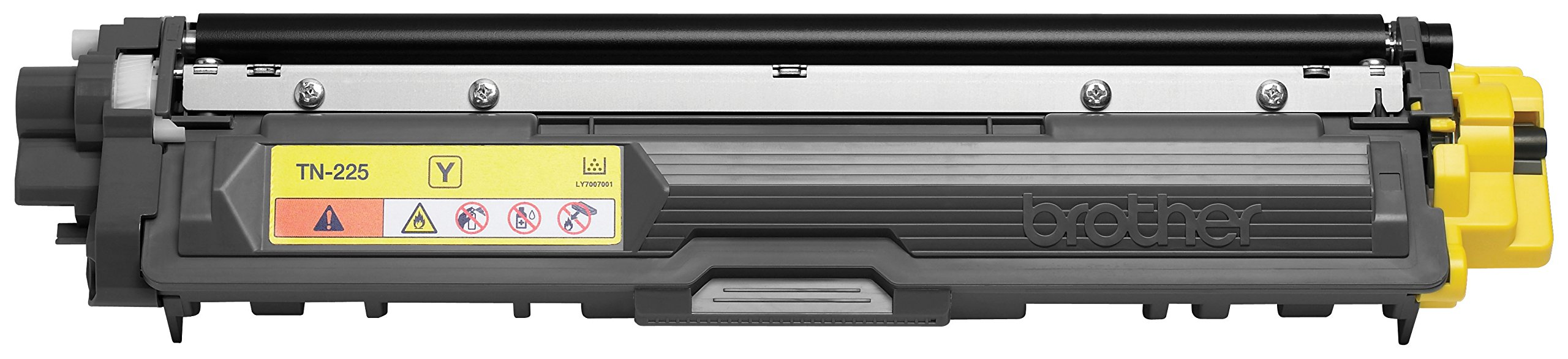 Brother Genuine TN225Y High Yield Yellow Toner Cartridge by Brother