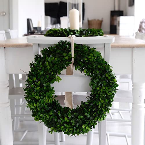 Amazon Boxwood Wreath Spring Wreath Front Door Wreaths