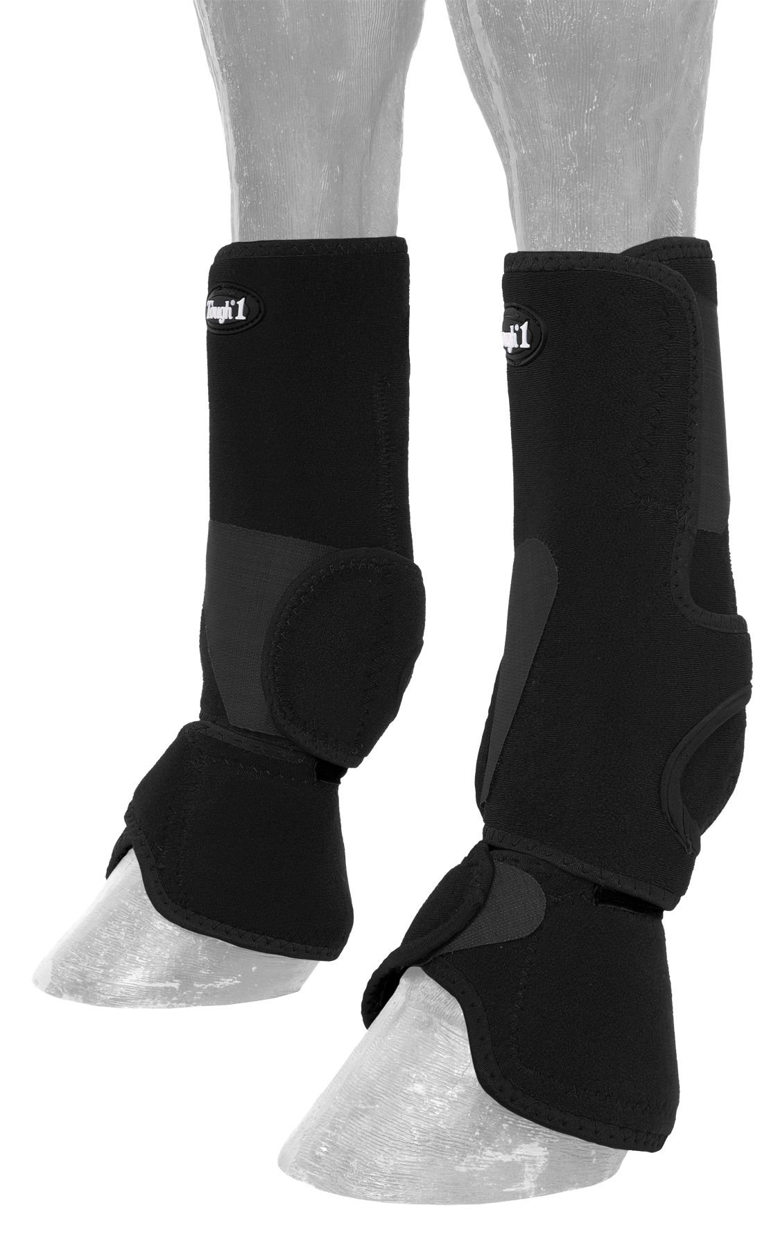 Tough 1 Performers 1st Choice Combo Boots, Black, Large