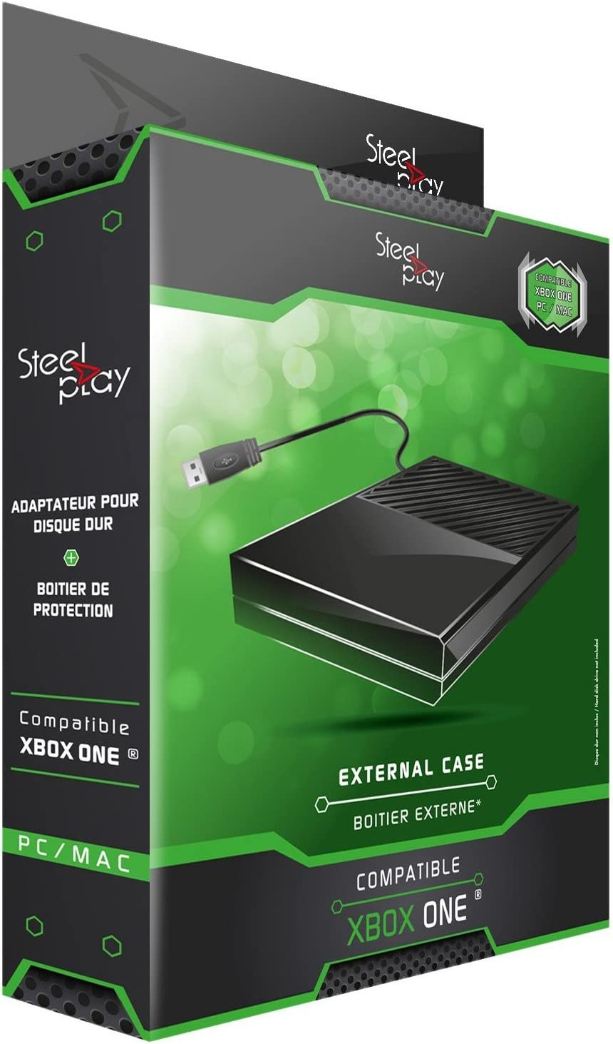Steel Play - Pack Adaptador + Carcasa Externa Para Disco Duro ...
