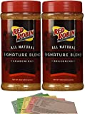 Red Robin Seasoning Salt 16oz Signature Blend with 5 Recipes (2 Pack)