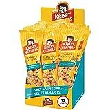 Krispy Kernel | Salt & Vinegar Peanuts, Perfect Snacks On The Go (12 x 60g)