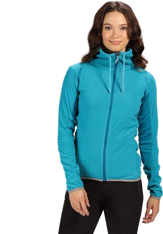 Regatta Womenss Womens Mons Iii Lightweight Extol Stretch Mini Stripe Micro Fleece