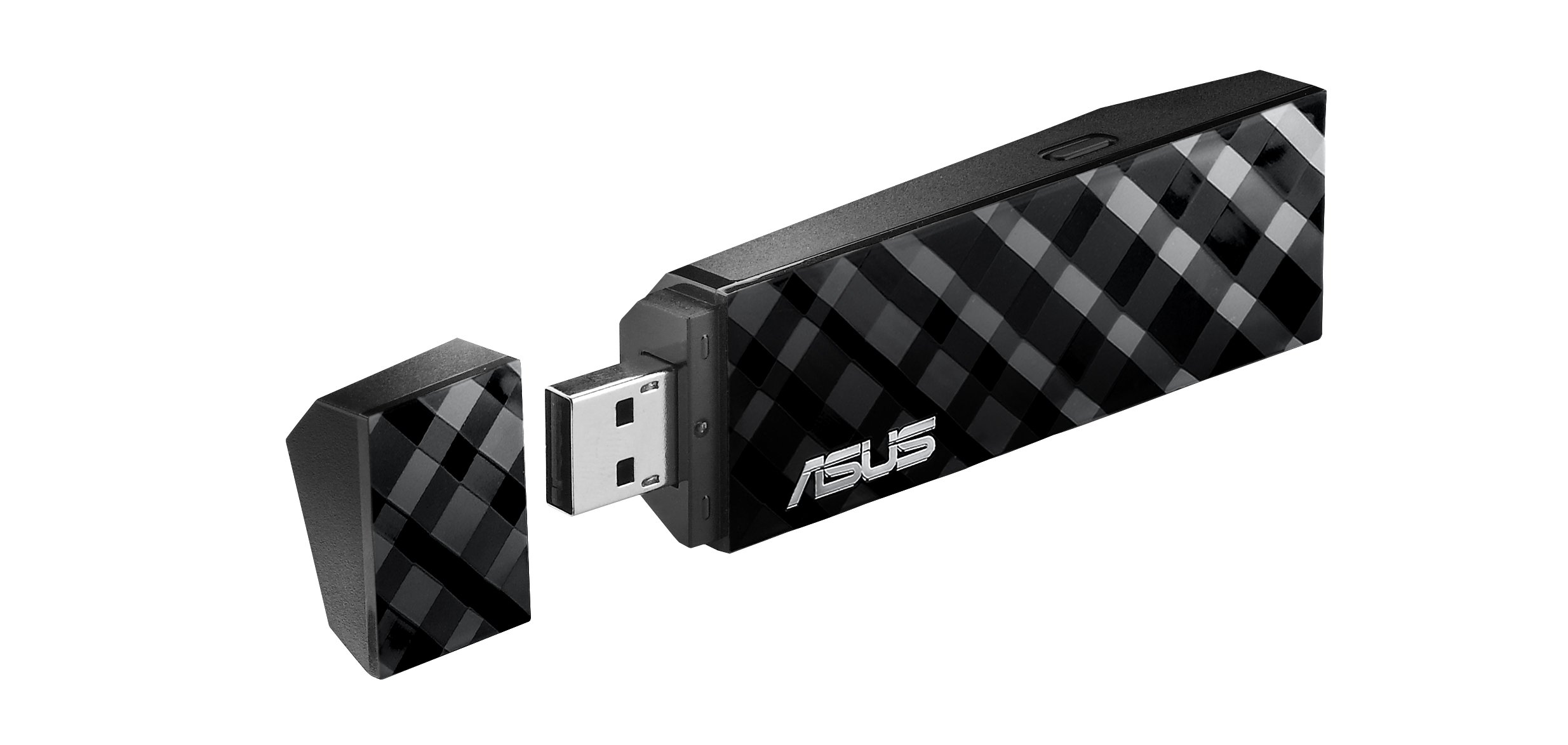Asus Dual Band (2.4GHz 300Mbps/5GHz 300Mbps) Wireless-N USB Adapter with Graphical Easy Interface (USB-N53) by ASUS