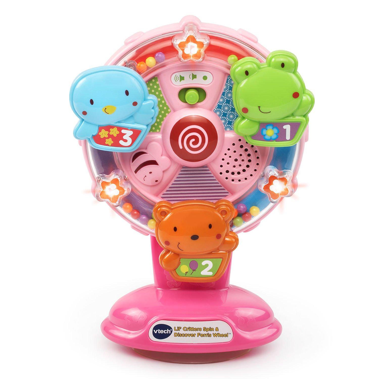 VTech Lil' Critters Spin and Discover Ferris Wheels, Pink (Amazon Exclusive) by VTech (Image #1)