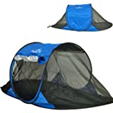 Free-Standing Instant Pop-Up Mosquito / Bug Tent with UPF 100+ Removable Ceiling for 1 to 2 person