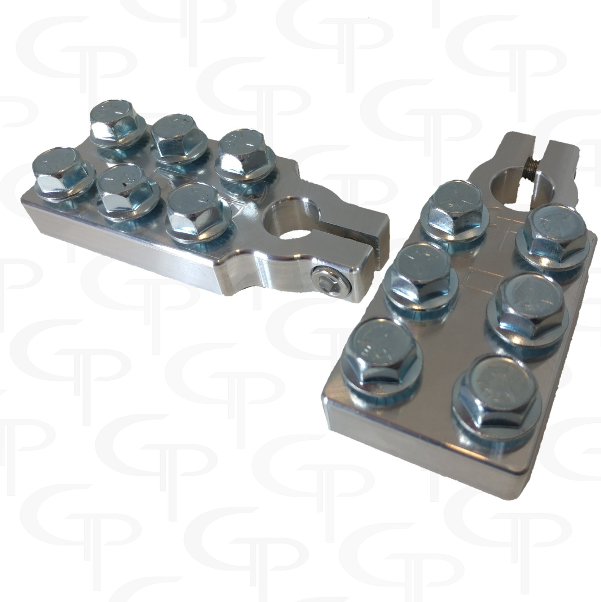 GP SAE 6 SPOT BATTERY TERMINALS HEAVY DUTY by GP AUDIO