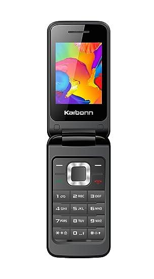 79271b62f43 Image Unavailable. Image not available for. Colour  Karbonn K-Flip Dual SIM  Mobile ...