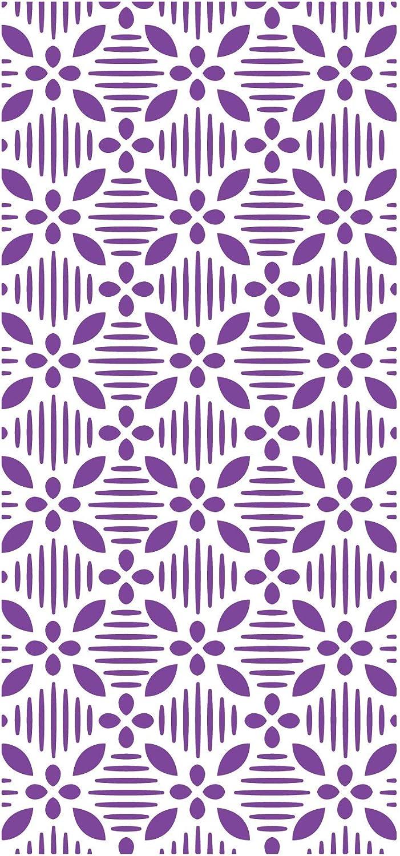 5.75 x 2.75 inches Crafters Companion GEM-EF-GEO Gemini Embossing Folder Geometrischen Florals 14,5 x 7 cm Multi-Colour