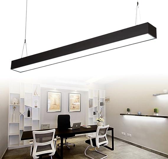 24W Lampada a sospensione LED Di Alluminio e Ferro LED 2700LM- 120cm ...