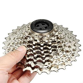 ShopSquare64 BIKIGHT 9 Velocidad 11-25T Bicicleta Rueda Volante Rueda Libre Ciclismo Bicicleta de Carretera
