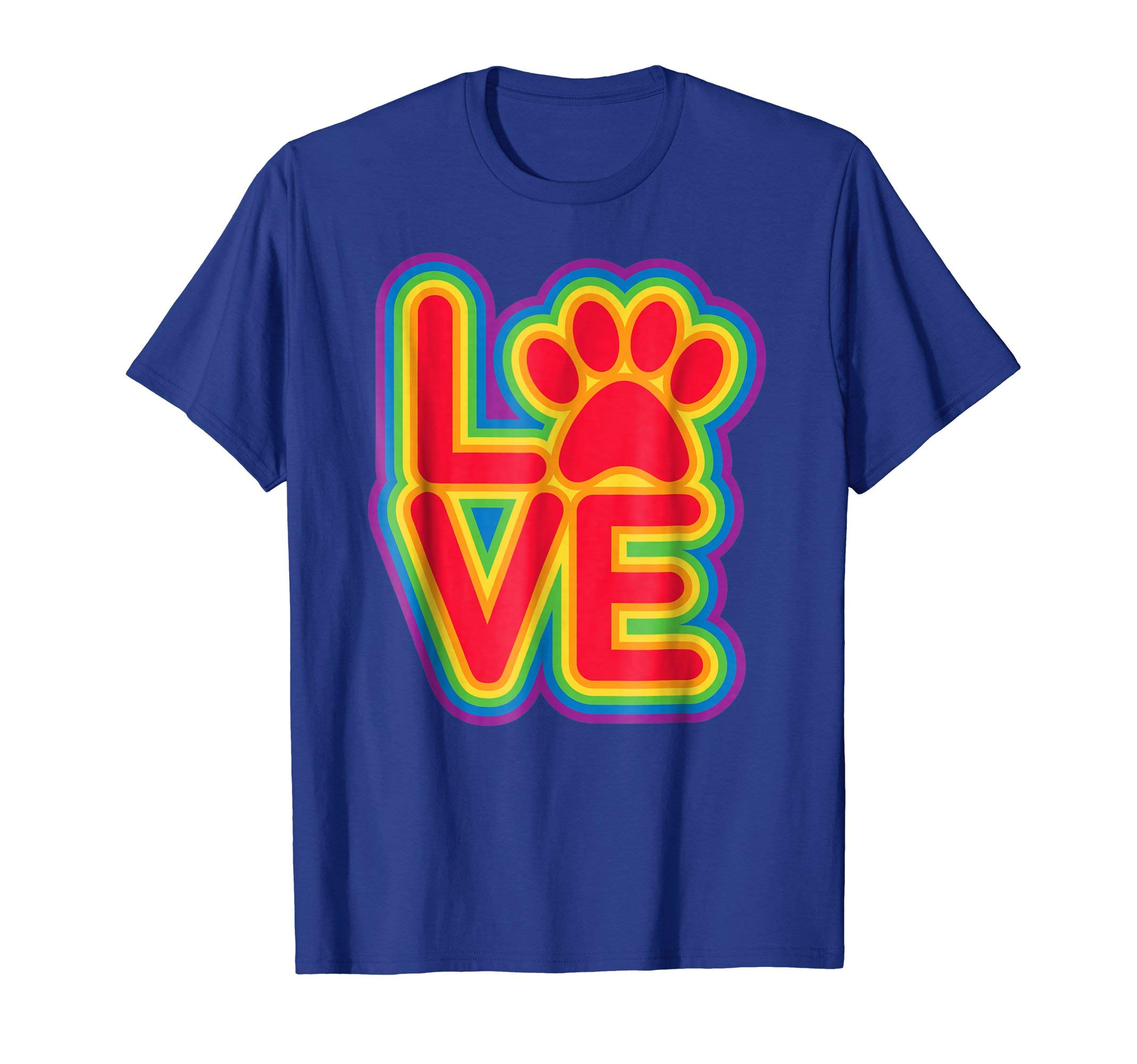 PET LOVE Cat Dog Paw Funny Cute T-Shirt for Everyone