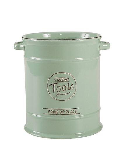 T&G Pride of Place Vaso Porta Utensili da Cucina Colore Verde Antico ...