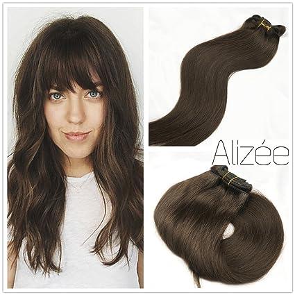 Amazon.com: Alizée Clip en extensiones de cabello humano ...