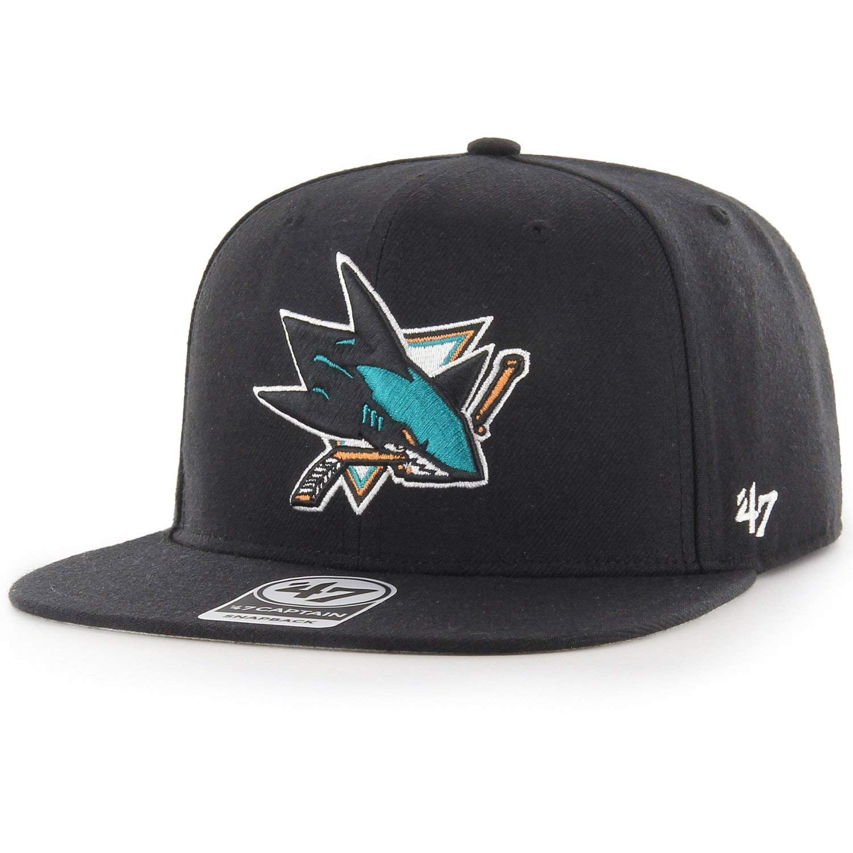 47 Brand Snapback - Gorra, diseño de Capitán San Jose Sharks ...