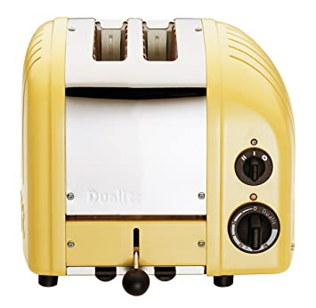 Amazon Dualit 2 Slice Toaster Canary Yellow Kitchen & Dining