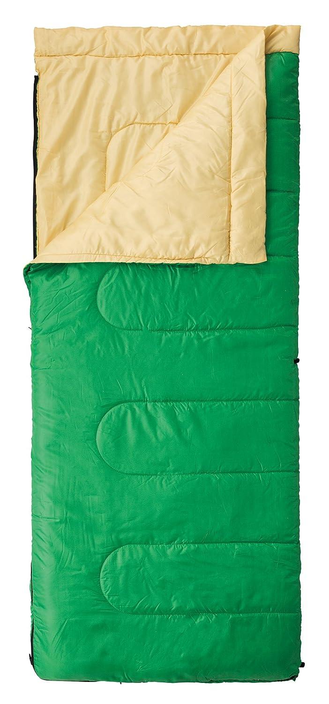 コールマン 寝袋 パフォーマー2/C10 グリーン/イエロー 「使用可能温度10度」 2000027261