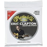 Martin MEC12 - Juego de cuerdas para guitarra acústica de fósforo.012 -