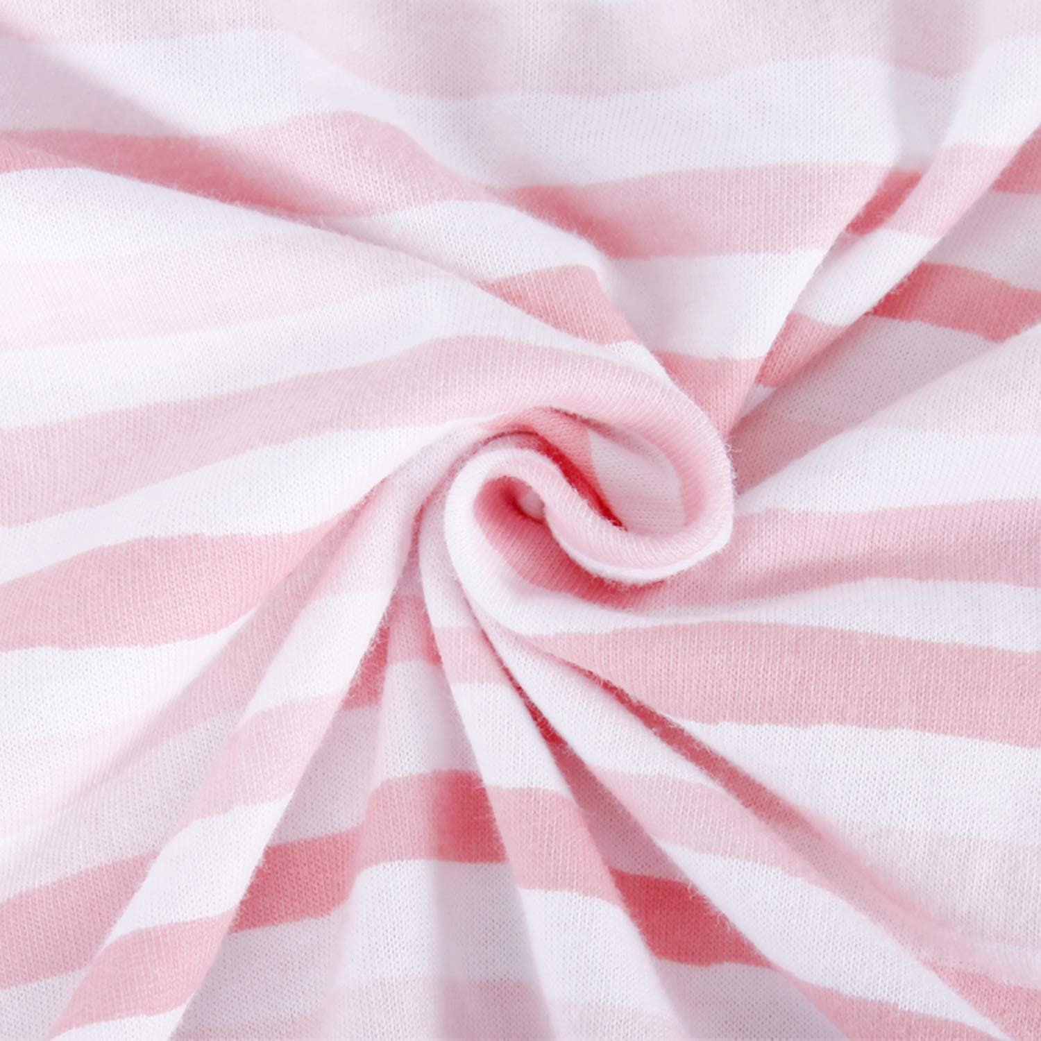 Cot Sheet Fitted for Standard Cot Mattress Pink Stripes Print for Girls 60x120cm SPRINGSPIRIT 100/% Cotton Jersey Sheet Ultra Soft Toddler /& Baby Bed Sheet