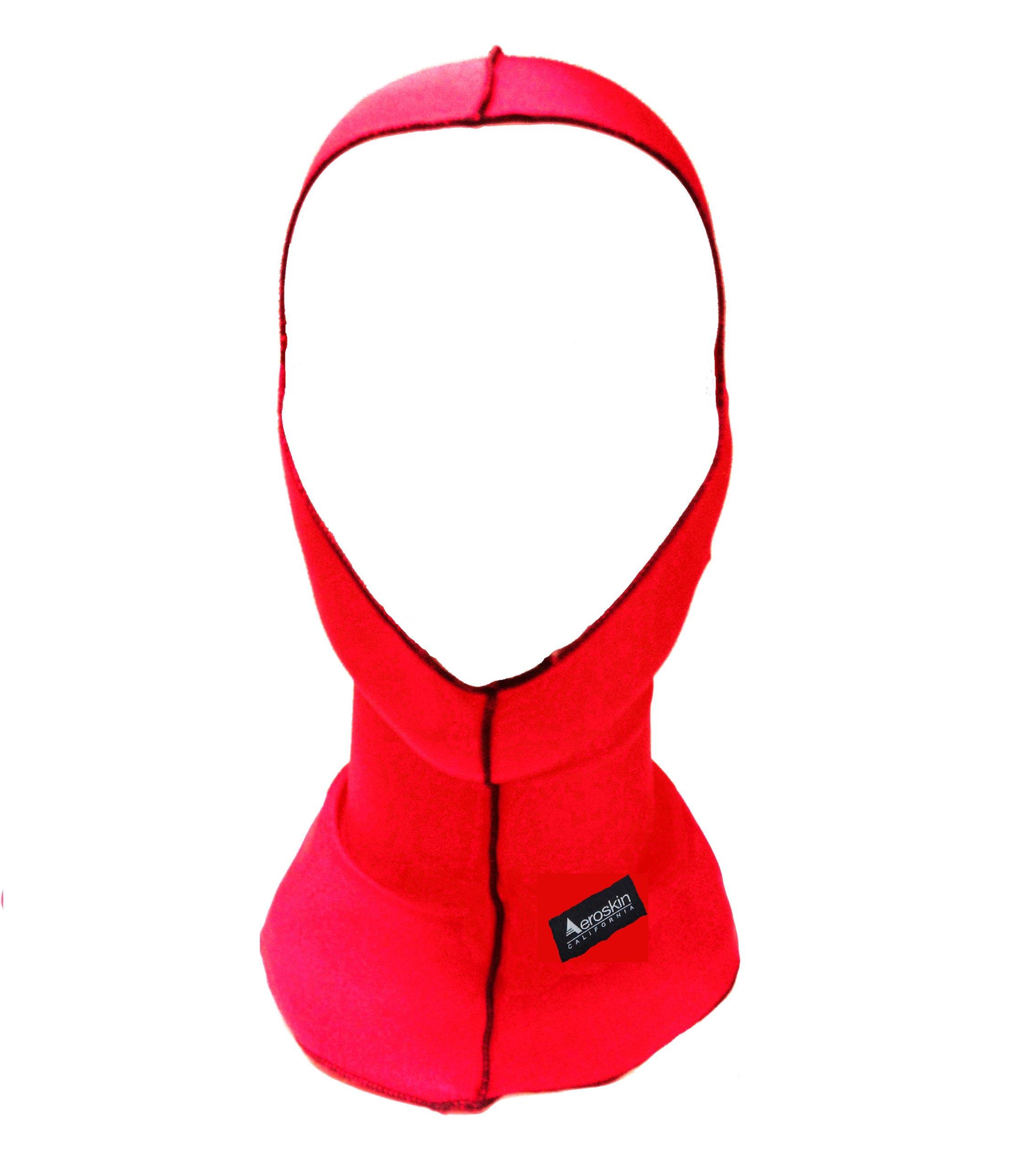 Aeroskin Nylon Spandex Solid Hood, Red by Aeroskin (Image #1)