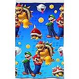 "Franco Kids Room Darkening Window Curtain Panel, 42"" x 63"", Super Mario"