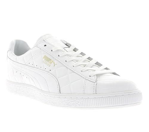 PUMA States MIJ para Hombre Zapatillas Blancas 359011 02, Herren - Schuhe - Turnschuhe &