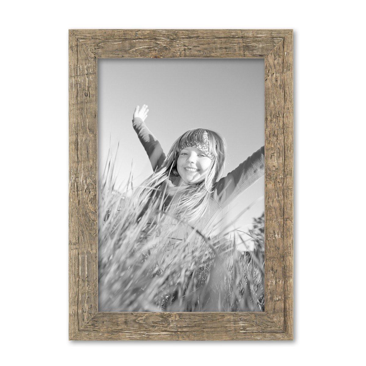 Amazon.de: Photolini Bilderrahmen 21x30 cm/DIN A4 Gold Barock Antik ...