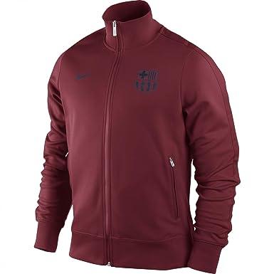 Nike Barcelona F.C. - Chaqueta con cremallera, color granate, talla L