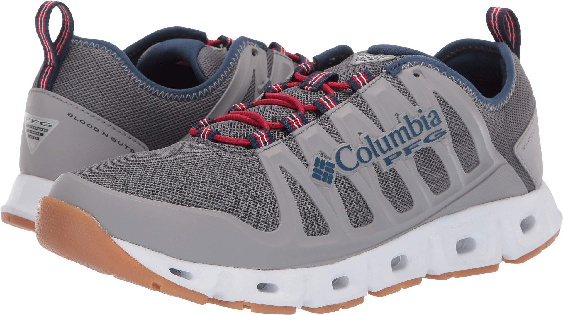Columbia PFG Men's Megavent II PFG Water Shoe, Ti Grey Steel/Carbon, 9.5 Regular US by Columbia