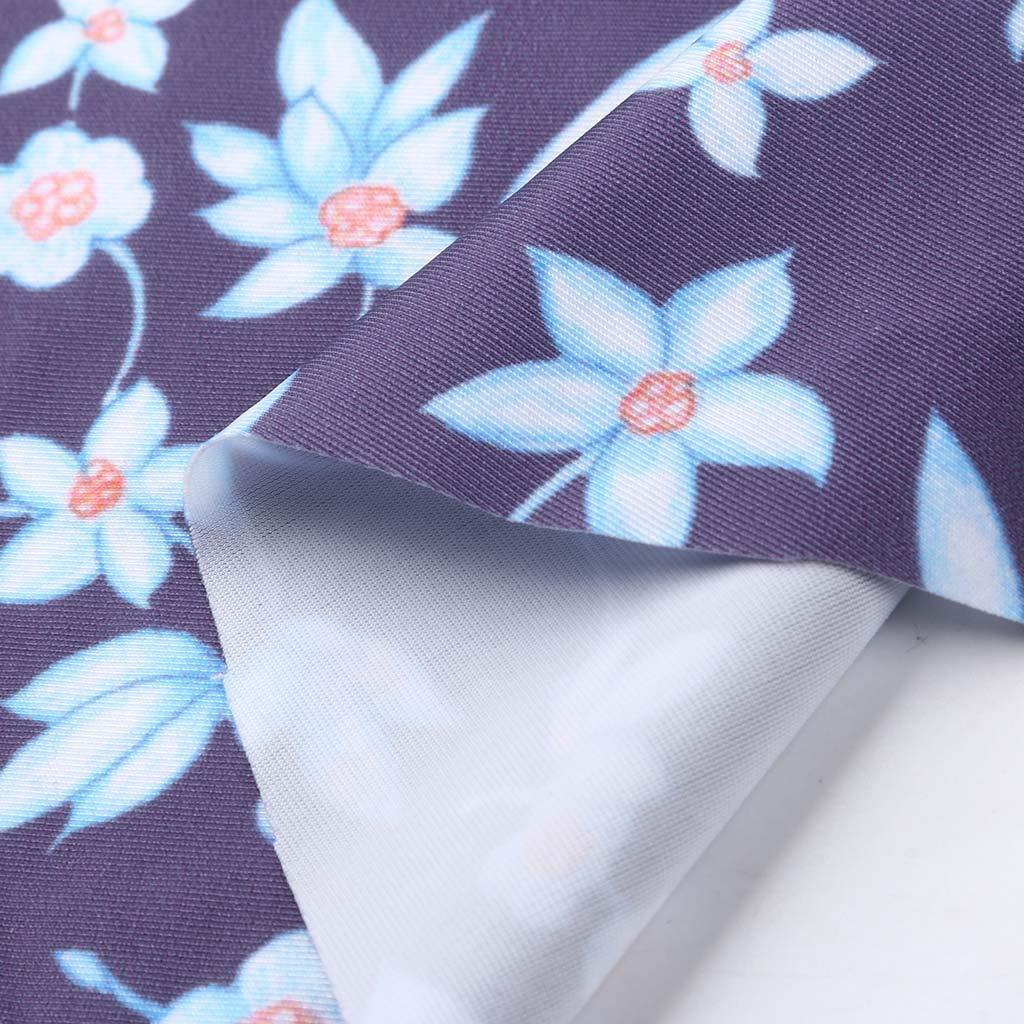 Huifa 2019 Fashion Swimsuit for Maternity Floral Print Bikinis Swimwear Pregnant Beachwear Suit