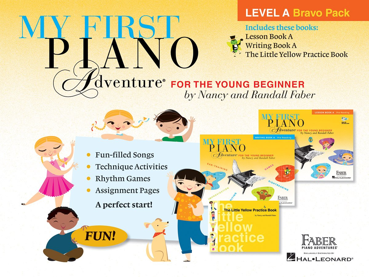 My First Piano Adventure Level a Bravo Pack Piano: Amazon.es: Nancy Faber_randall: Libros en idiomas extranjeros