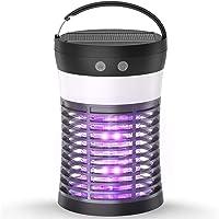 Mosquito Killer Lamp, ViViLarm Rechargeable Solar & USB Powered Bug Zapper, IP66 Waterproof Hanging Camping Lantern…