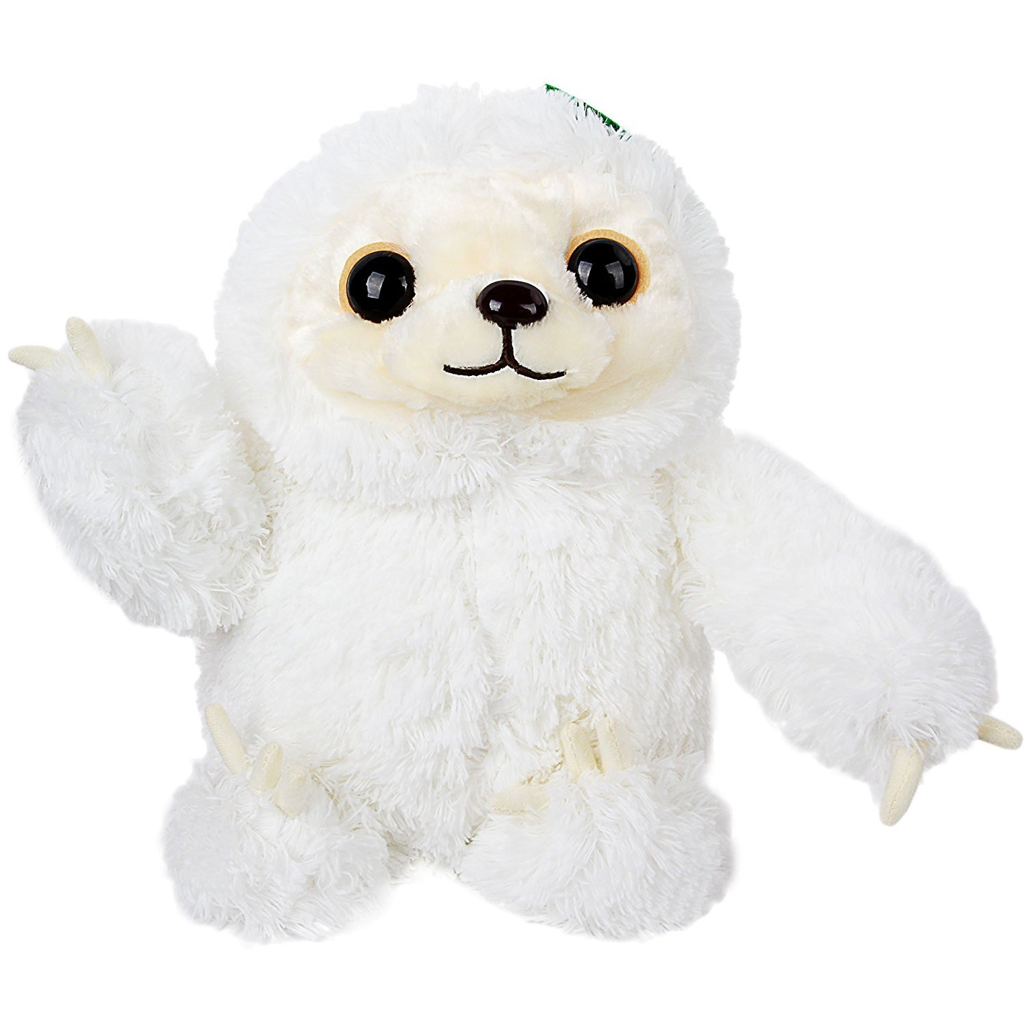 Amazon Sloth Stuffed Animals Fluffy Plush Not Easy Shed Fur Animal Soft Gifts Toy For Kids 16 White Toys Games