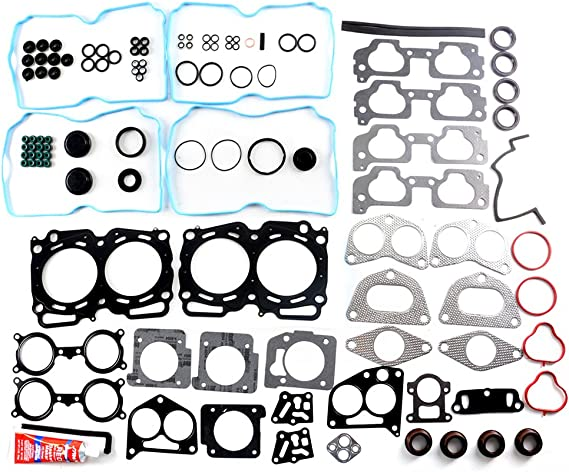 ECCPP Replacement for Head Gasket Set fit 2004-2009 Subaru Legacy Impreza Outback Forester Saab 2.5L SOHC Head Gasket Set