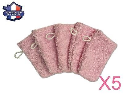 MODULIT  Lot de 5 petits gants de toilette d apprentissage pour bébé enfant 643e5960f7f