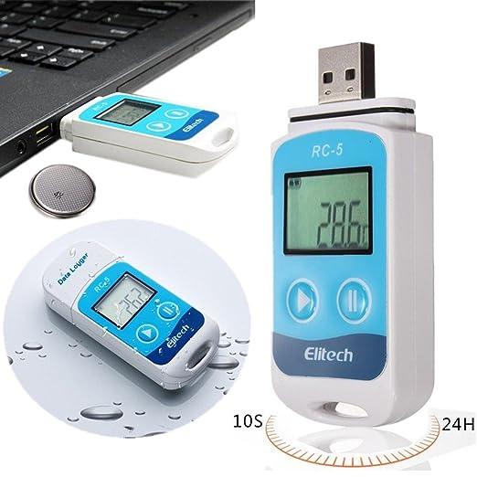 55 opinioni per Mohoo RC-5 mini sensore e registratore dati della Temperatura 32000 Punti