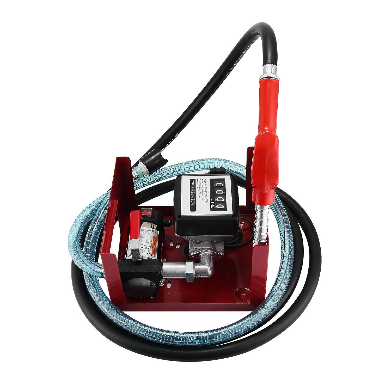 Pompe /à Huile Pour Vidange Olibelle Pompe /à Huile Pour Vidange 40L//min Pompe /à Fuel Ou Gasoil 600W Pompe /à Huile Electrique
