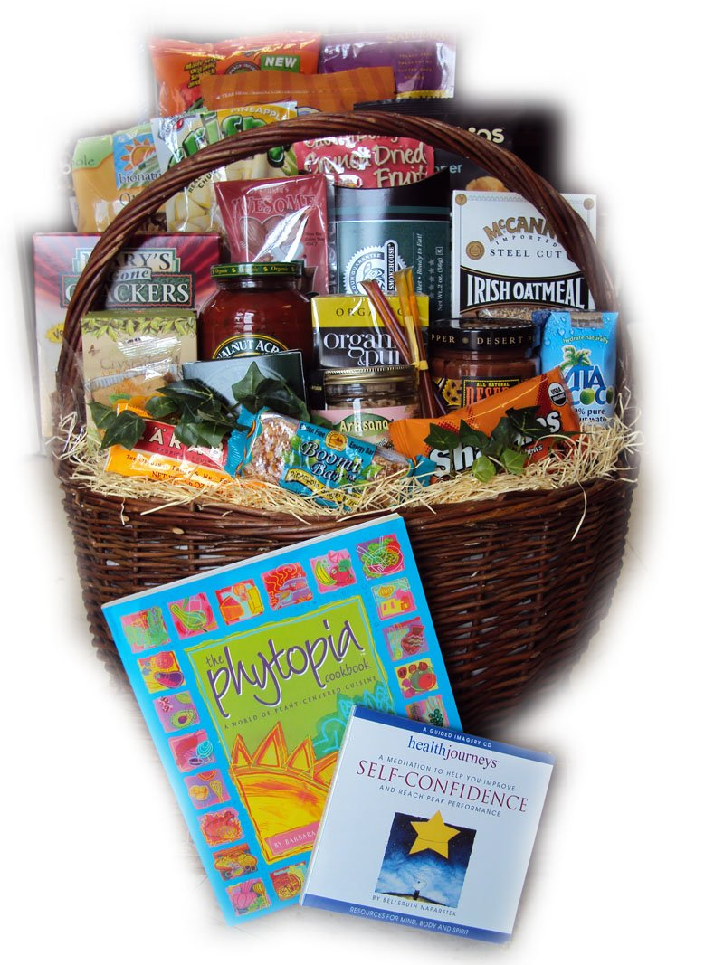 Marathon Runner Training and Get Well Gift Basket for Runners by Well Baskets by Well Baskets
