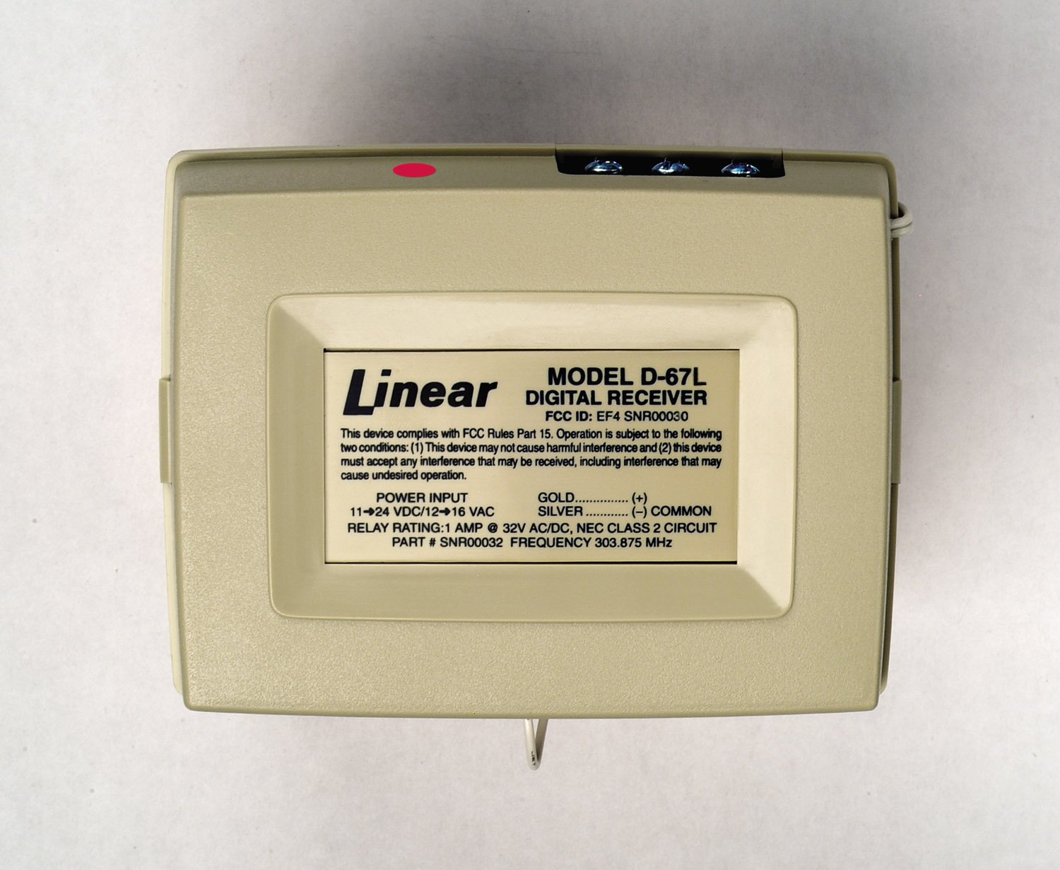Amazon.com: lineal d-67l 1-Channel Latching receptor, 11 A ...
