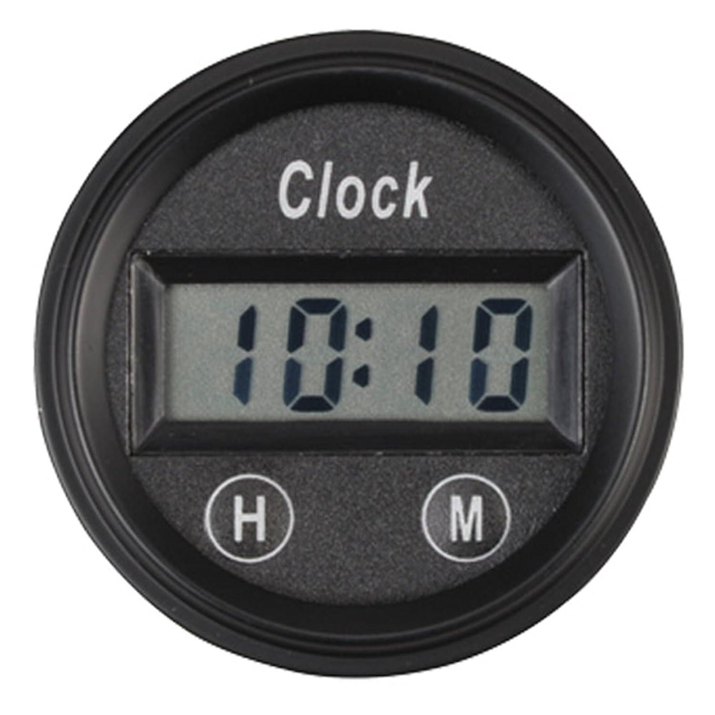 PA Auto Digital Clock Gauge Amber Back Light for Car Interior Dash 52mm 2 1/16'(12 Volt DC) Per-Accurate Inc.